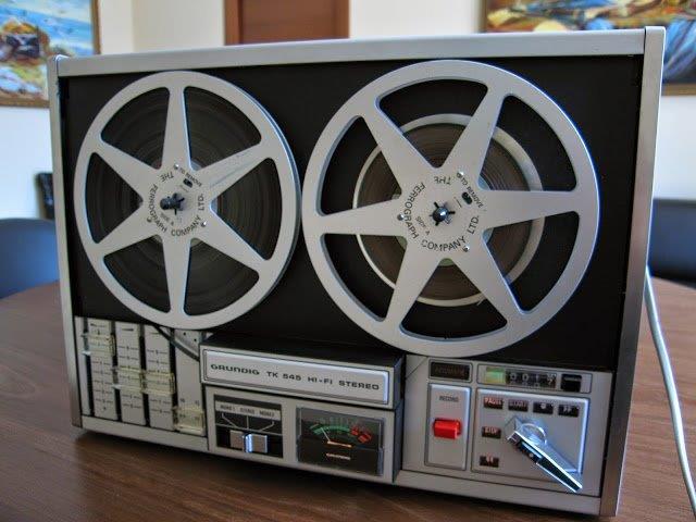 1971 Grundig Hi-Fi Stereo Tape Recorder TK 545