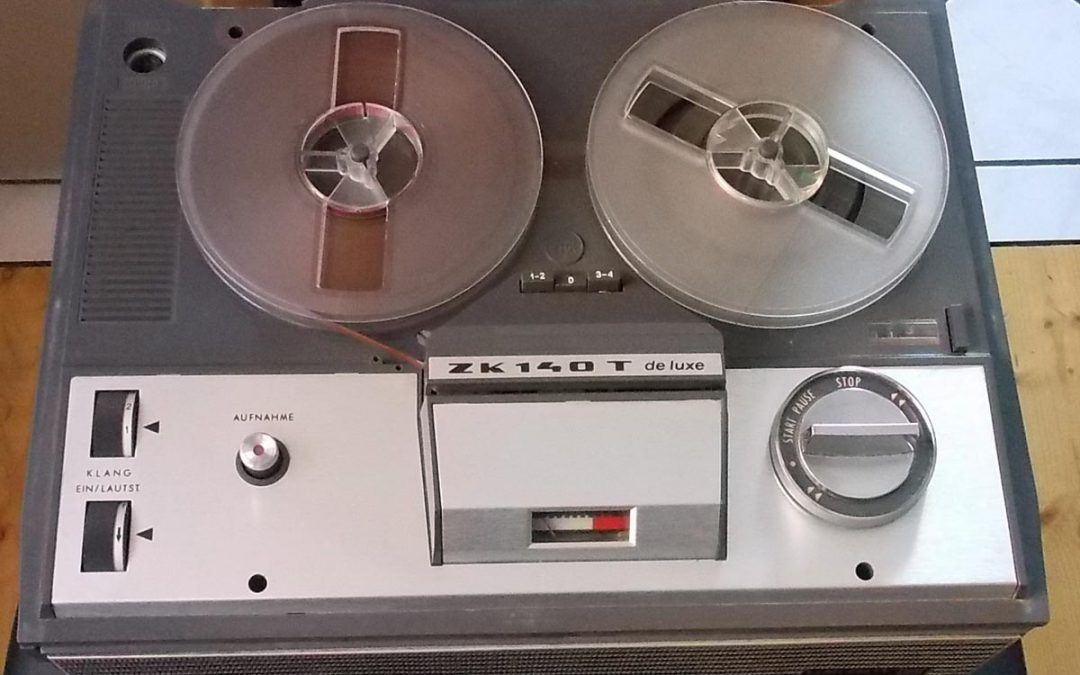 1971 Unitra ZRK Grundig Licence Tape Recorder ZK 140 T de Luxe