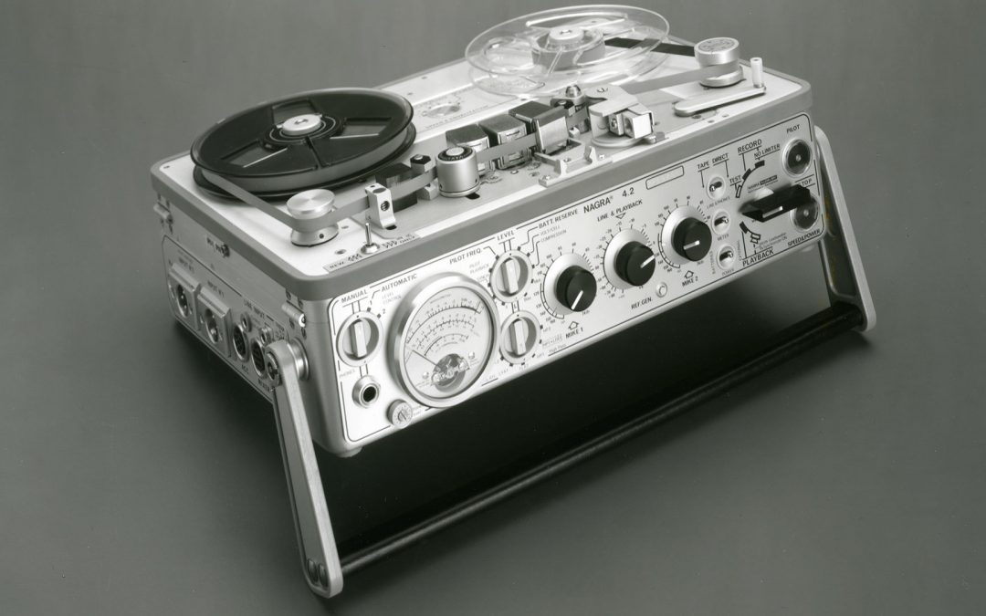 1971 Nagra Portable Mono Analogue Tape Recorder 4.2