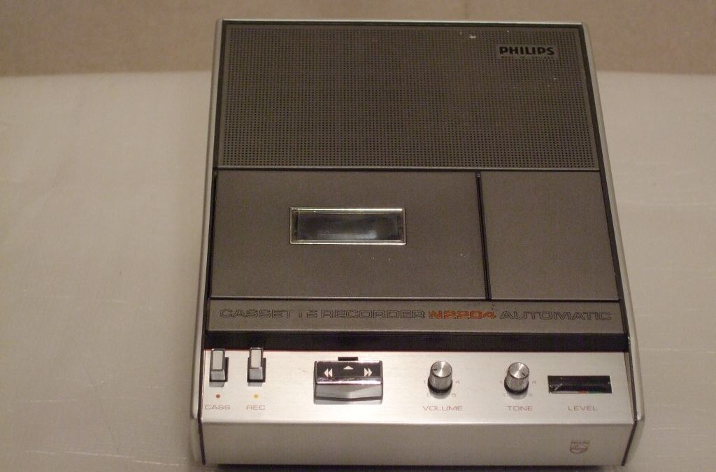 1971 Philips Cassette Recorder Automatic N2204