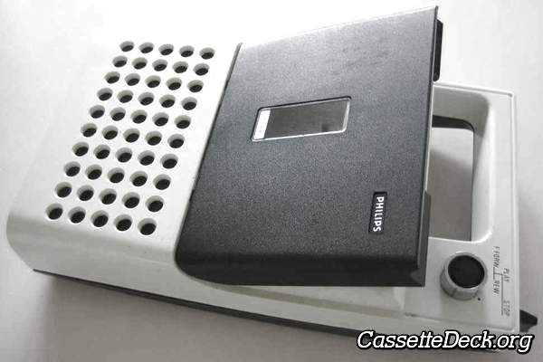 1971 Philips Portable Cassette Player N2000