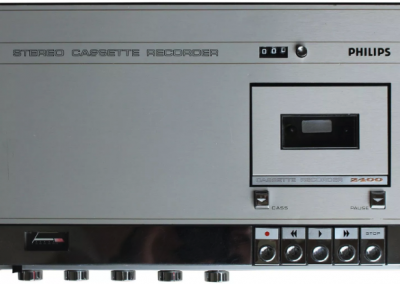 1971 Philips Stereo Cassette Recorder N2400 - n2400-1.png