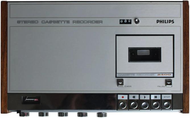1971 Philips Stereo Cassette Recorder N2400