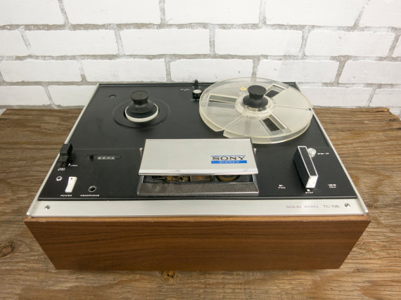 1971 Sony Solid State Stereo Tape Player TC-155