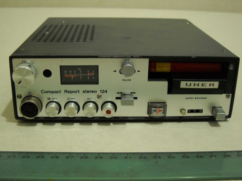1971 Uher Compact Report Stereo CR 124 Auto-Reverse
