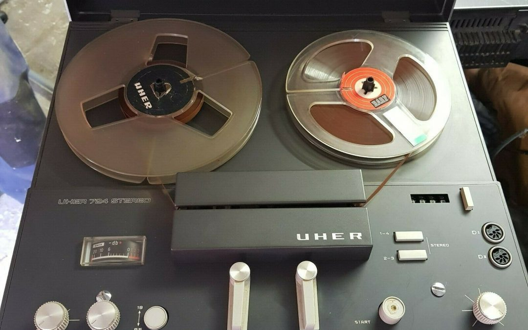 1971 Uher Stereo Tape Recorder 724