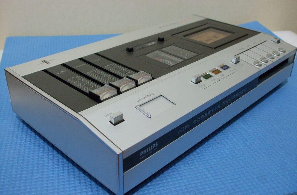 1972 Philips HiFi Stereo Cassette Recorder N2510