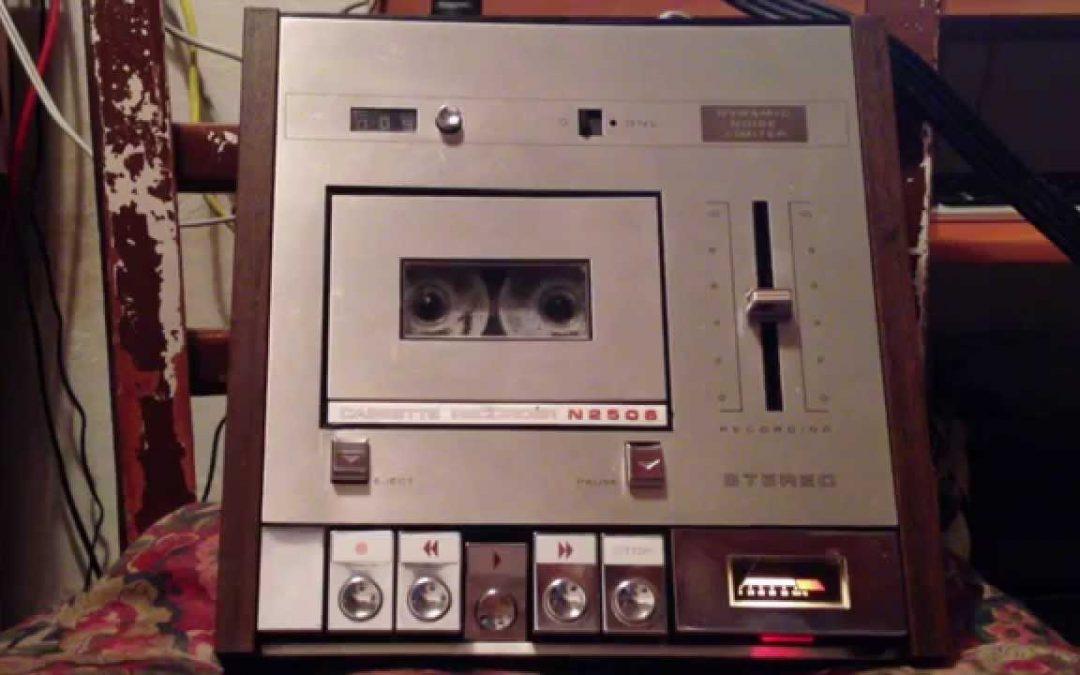 1972 Philips Stereo Cassette Recorder N2506