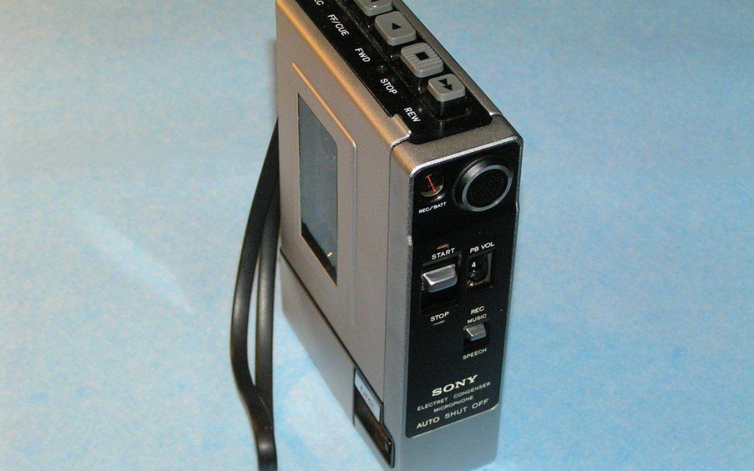 1972 Sony Tape Cassette-Corder TC-55