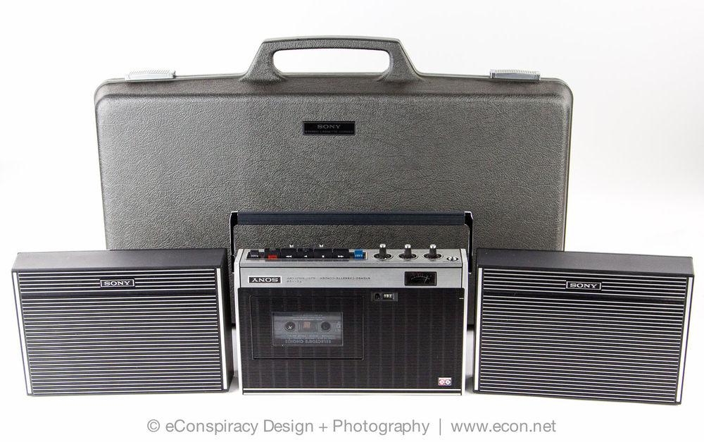 1973 Sony Cassette Corder TC-126CS