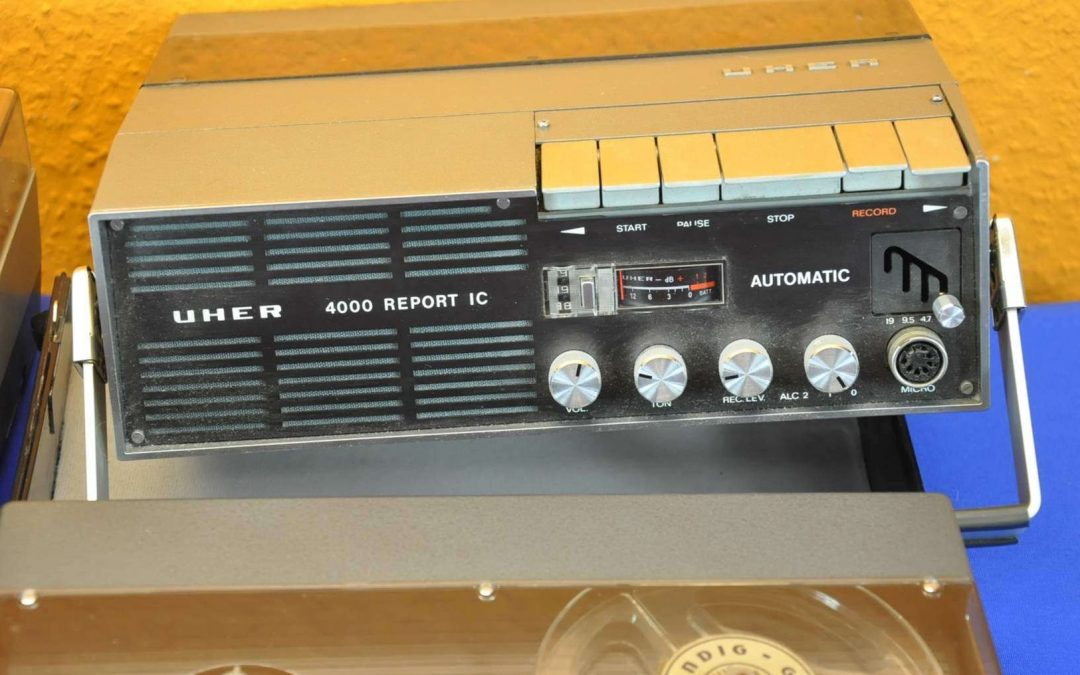 1973 Uher Tape Recorder Report IC 4000