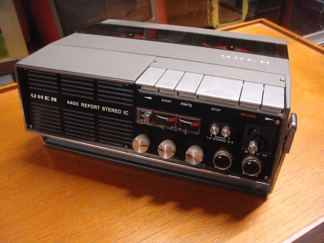 1973 Uher Tape Recorder Report Stereo IC 4400