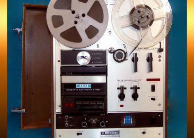 1973 AKAI Reel to Reel-Cartridge-Cassette Combination Stereo Tape Recorder X2000SD - IMG_1048.jpg