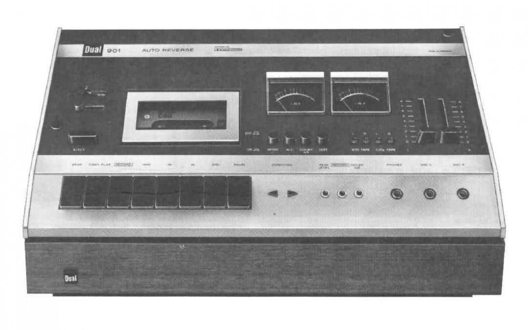 1973 Dual Stereo Cassette Deck AutoReverse C 901