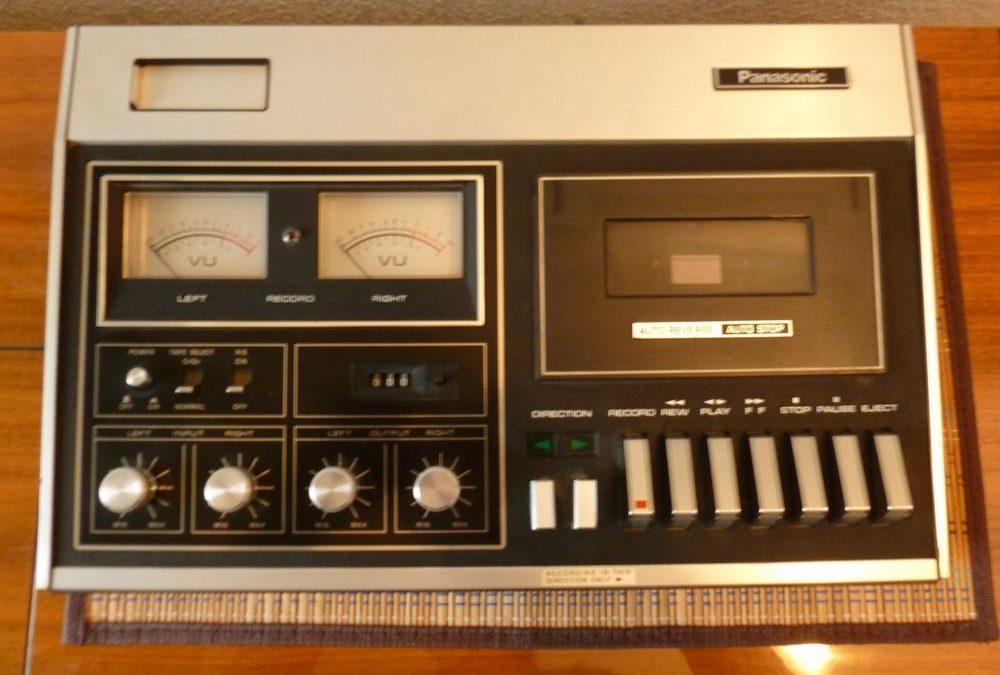 1971 National Panasonic HiFi Cassette Deck AutoReverse RS-272US