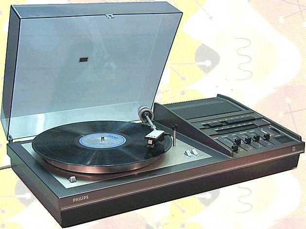 1973 Philips HiFi Kombination 22RH837