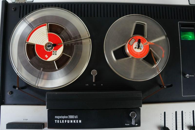 1973 Telefunken HiFi Stereo Magnetophon 2000»