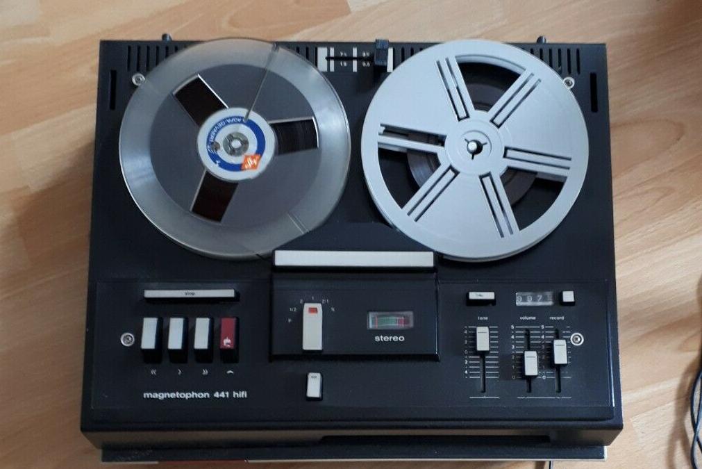 1973 Telefunken HiFi Stereo Magnetophon 441