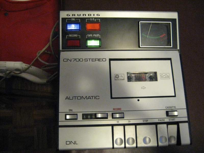 1974 Grundig Stereo Automatic Deck CN 700
