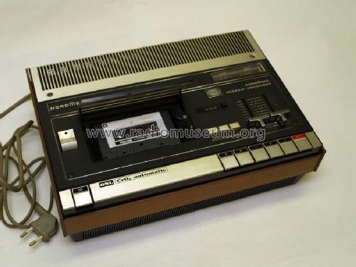 1974 Nordmende Hifi Komfort Cassetten Recorder Typ 437A