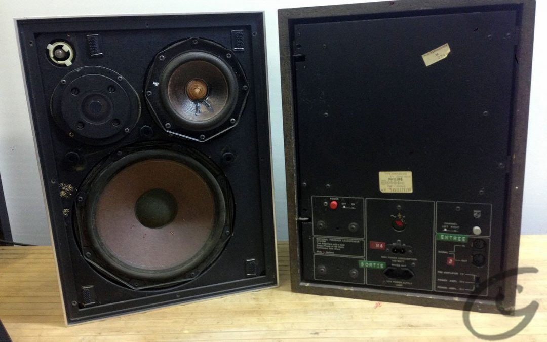 1974 Philips Motional Feedback Box (MFB) Aktiv Electronic 22RH532