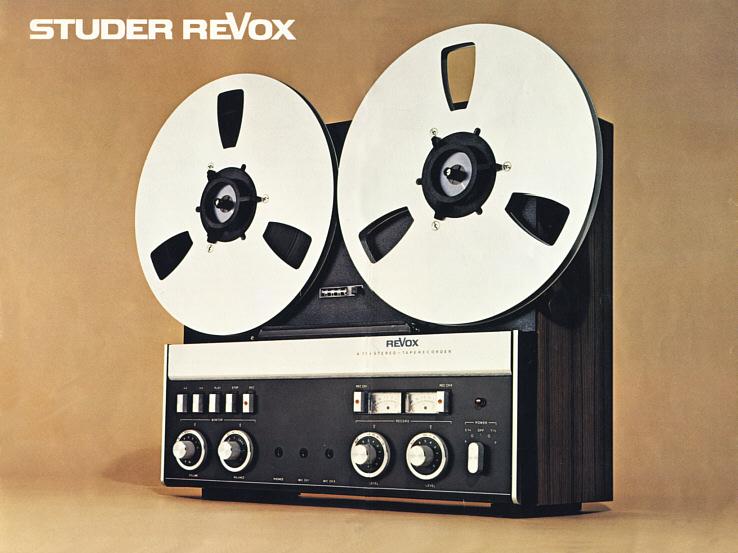 1973 ReVox Stereo Taperecorder A 77 MK IV