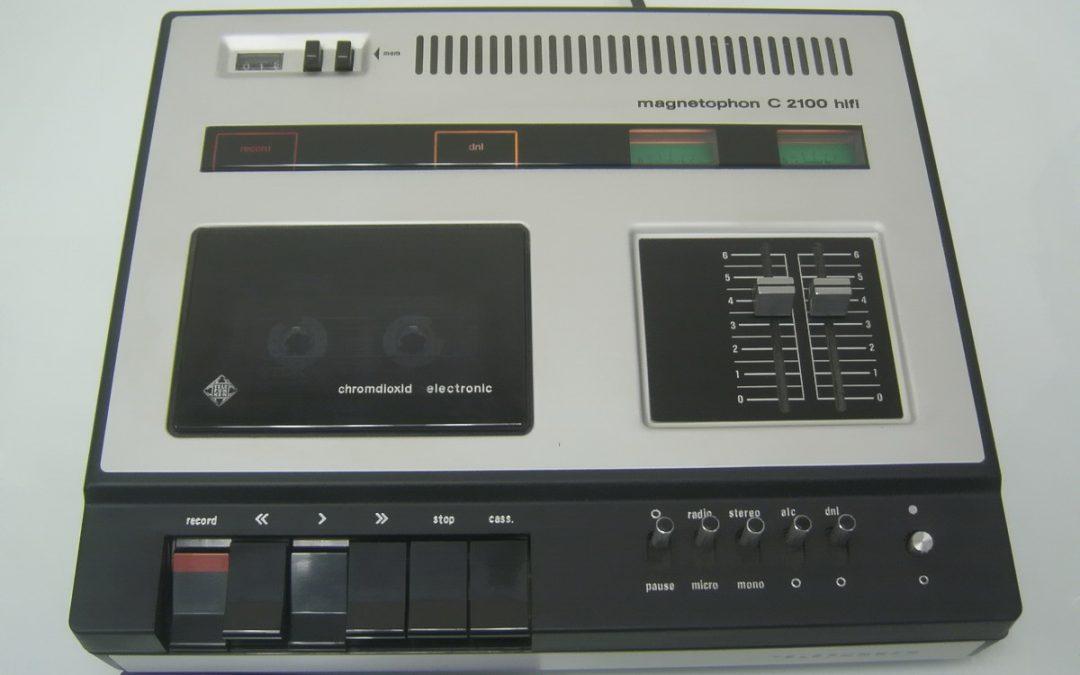 1974 Telefunken Magnetophon Chromdioxid Electronic C 2100 HiFi