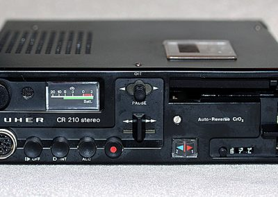 1974 Uher Auto-Reverse Stereo CrO2 CR 210 - Uher-CR210.1.jpg