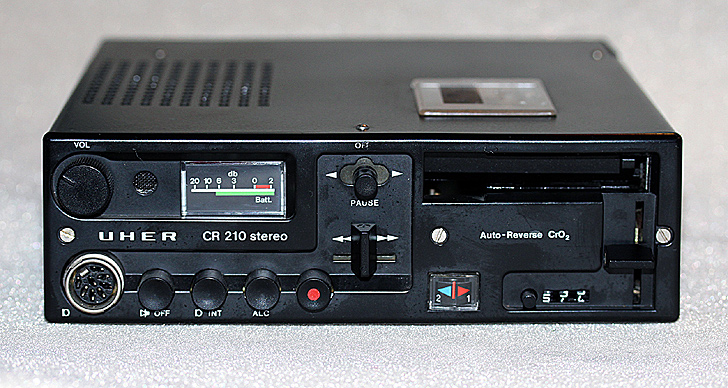 1974 Uher CR 210 Stereo Auto-Reverse CrO2