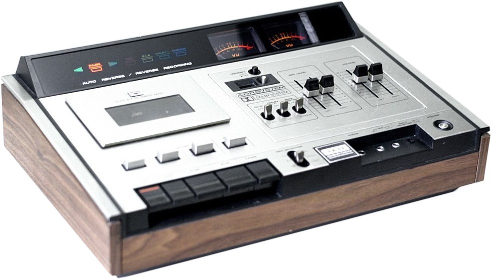 1975 AKAI Stereo Auto Reverse Cassette Tape Deck GXC-75D