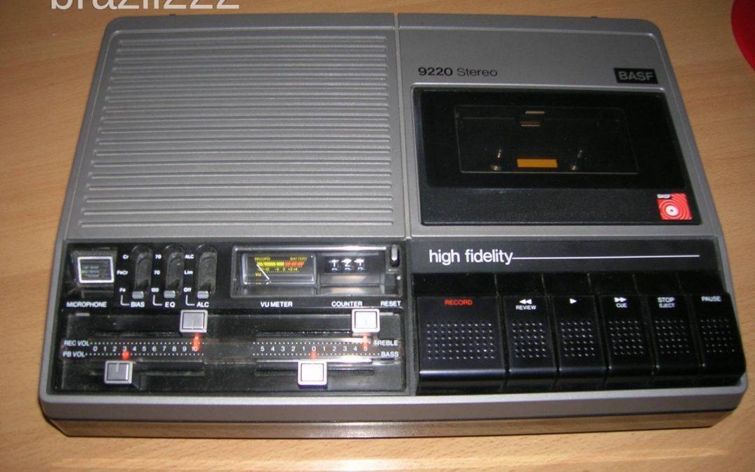 1975 BASF Stereo Compact Cassette Recorder 9220