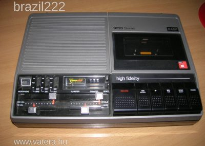 1975 BASF Stereo Cassette Recorder 9220 - basf-9220-stereo-vintage-cassette-record-567a_1_big