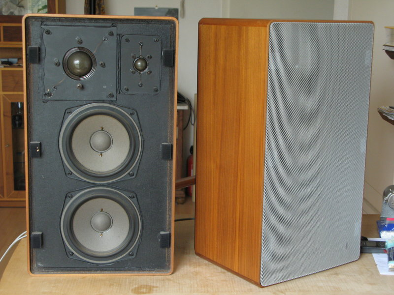 1975 Braun Hi-Fi Lautsprechereinheit L715