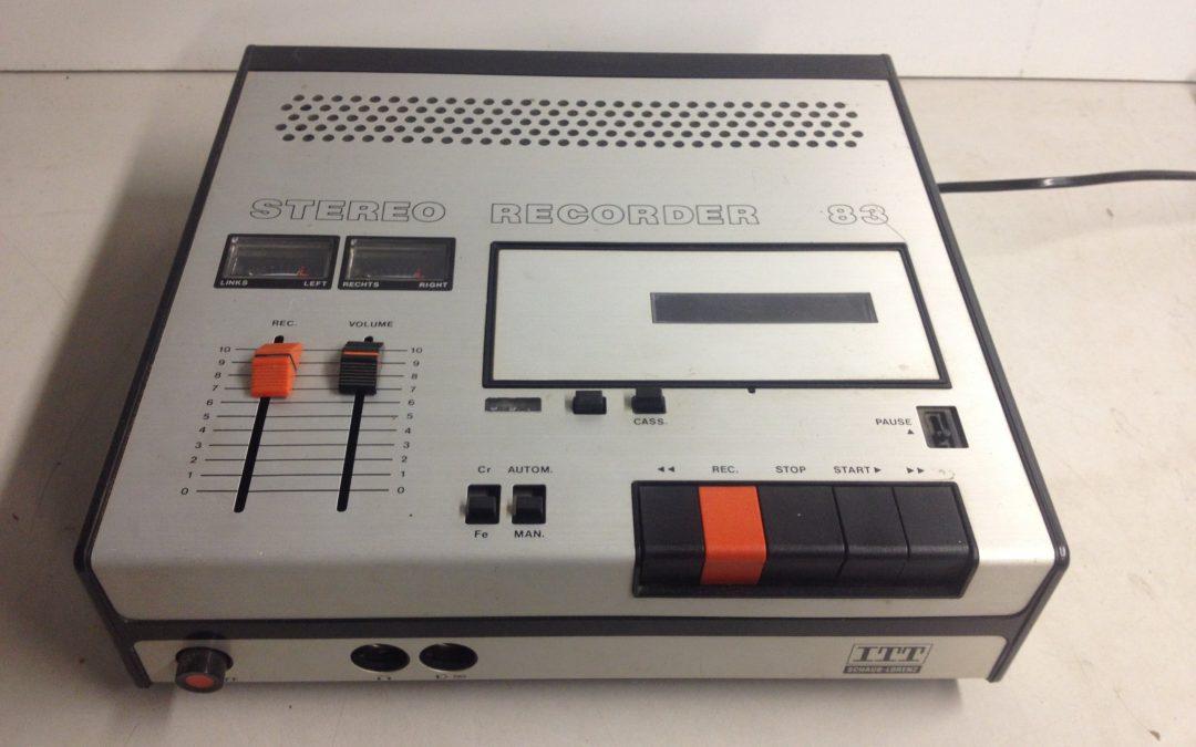 1975 ITT Stereo Recorder 83
