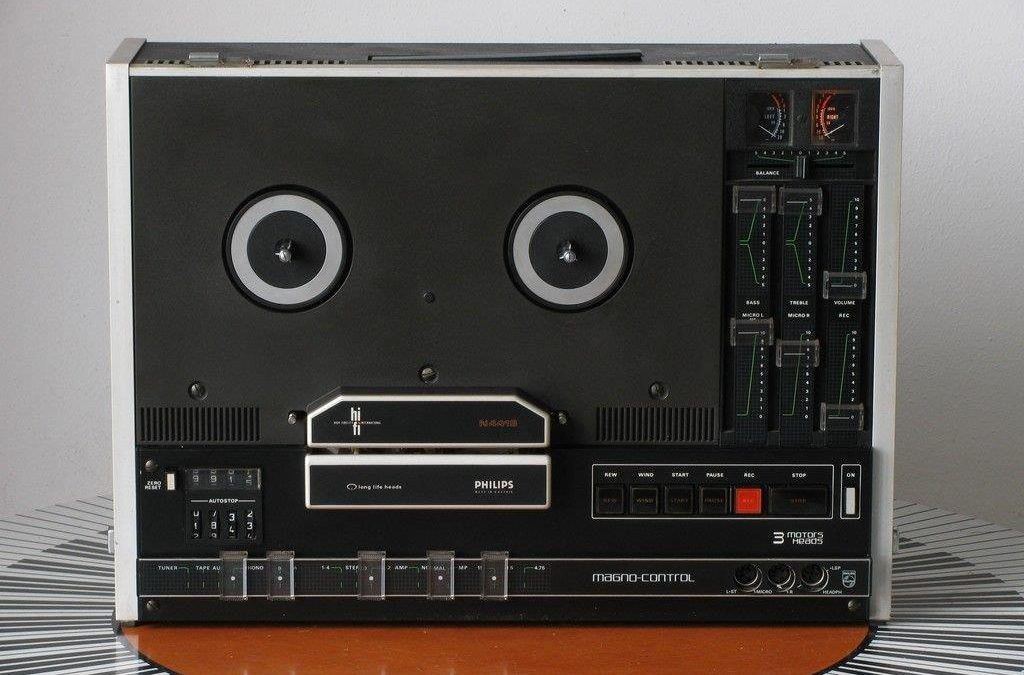 1975 Philips Stereo Recorder N4419