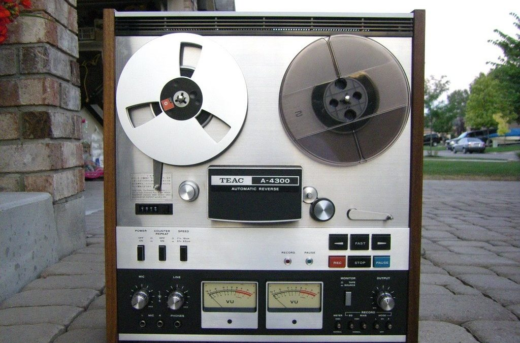 1975 Teac Stereo Tape Recorder Deck Automatic Reverse A-4300