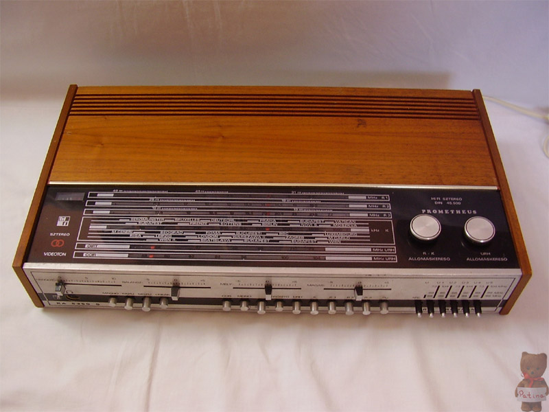 1975 Videoton Hi-Fi Sztereó Receiver Prometheus RA 5350 S