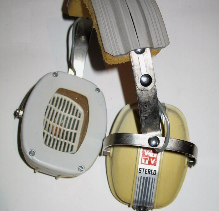 1975 Videoton Hi-Fi Stereo Fejhallgató FH 6,5/15