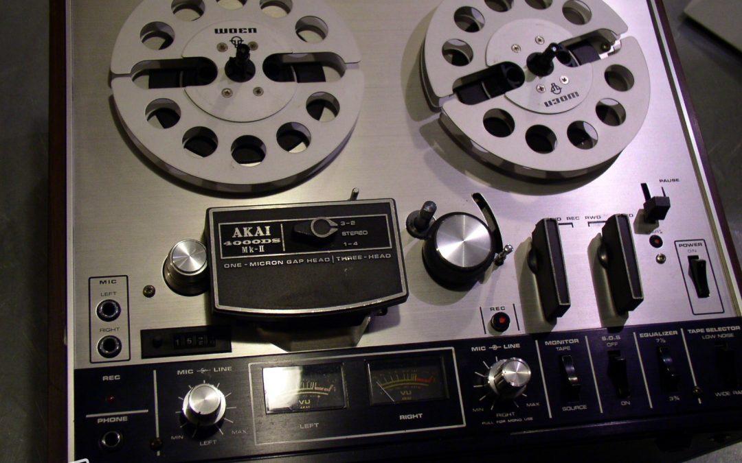 1972 Akai Stereo Tape Deck 4000DS MK-II