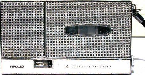 1976 Apolex I.C. Cassette Recorder