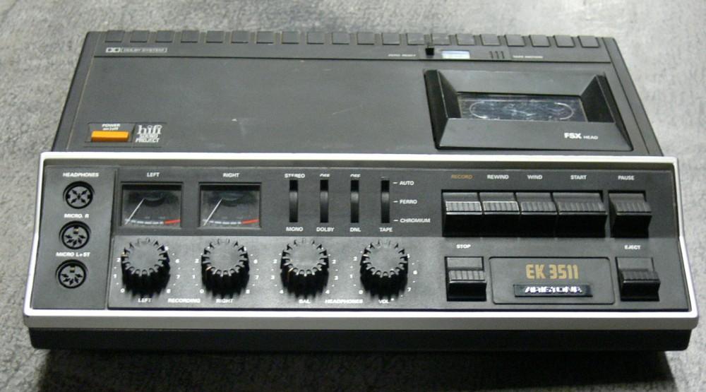 1976 Aristona Hi-Fi Cassette Recorder EK3511