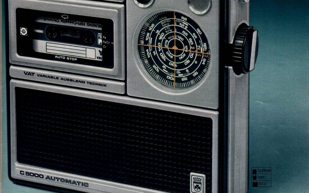 1976 Grundig C 5000 Automatic VAT