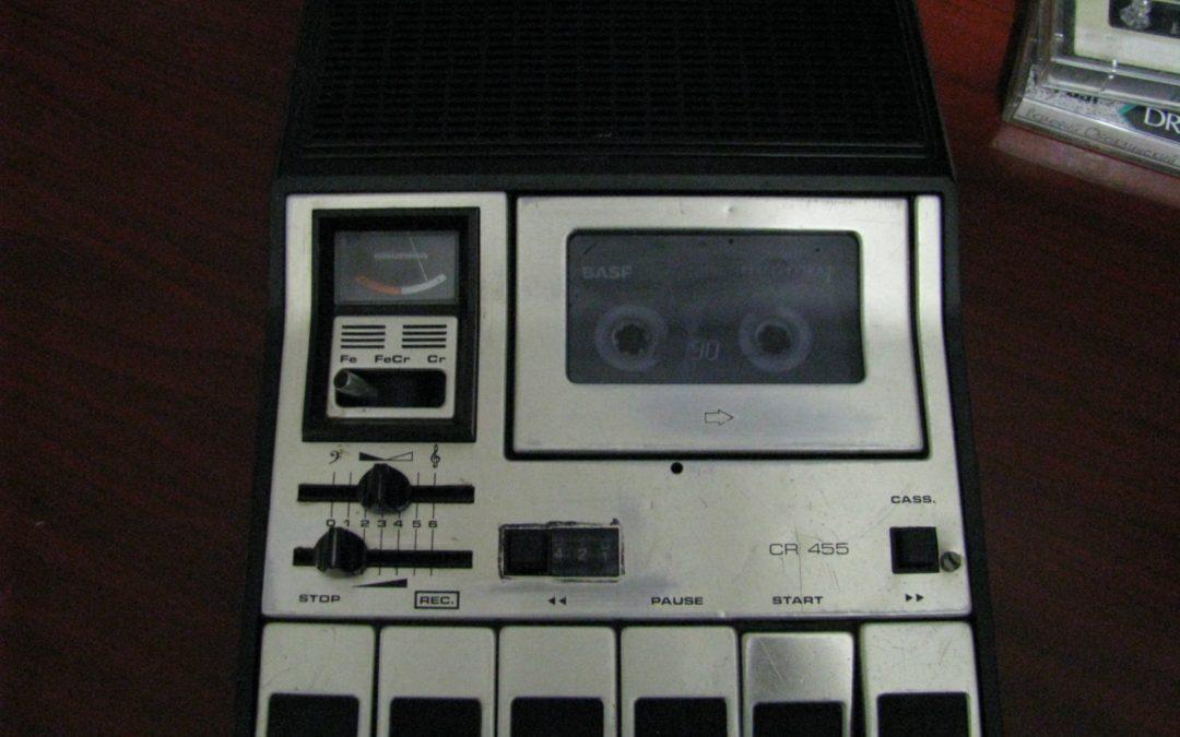 1976 Grundig Cassette Recorder CR 455