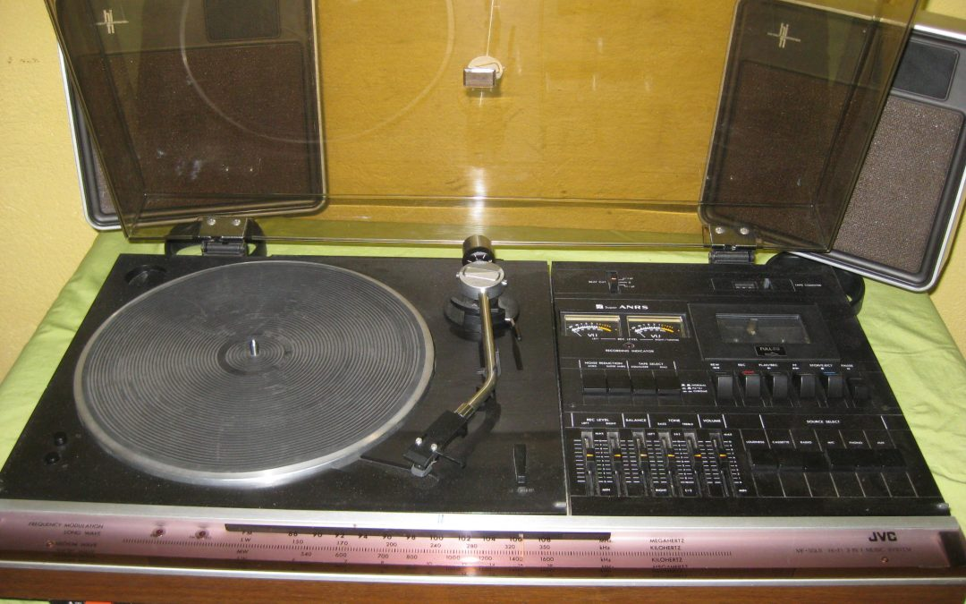 1976 JVC Hi-Fi 3 In 1 Music System MF-55LS