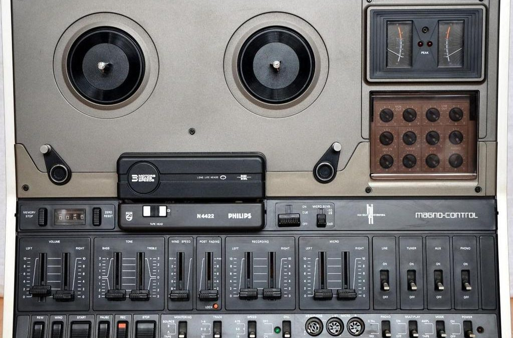 1976 Philips HiFi Stereo Magno-Control N4422