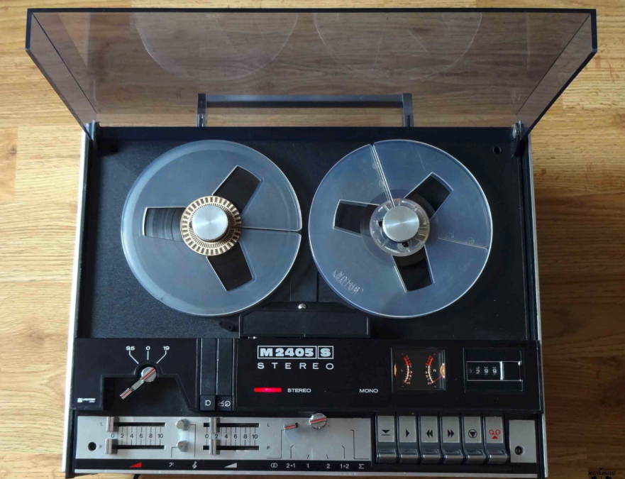1976 Unitra Stereo Tape Recorder M 2405 S