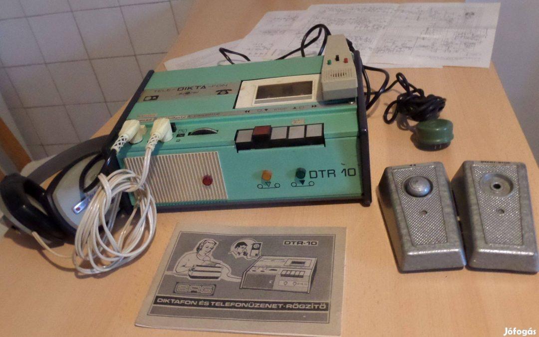 1977 BRG Tele-Dikta-Fon DTR 10