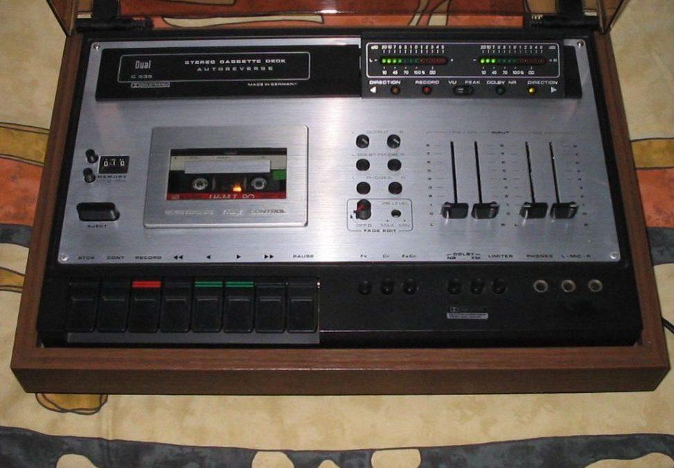 1977 Dual Stereo Cassette Deck Autoreverse C 939