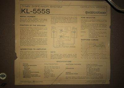 1977 Kenwood 3 Way 5 Speakers System KL-555S - le°r†s.jpg
