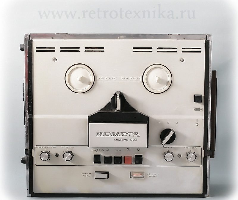 1977 Kometa Tape Recorder Model 209